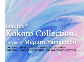 Oakley Launches the New Kokoro Collection designed by renowned artist Meguru Yamaguchi