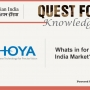 Hoya - Now Makes it in India - Launches Sensity and a slew of measures for the Indian Market